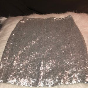 Lulus sequin mini skirt